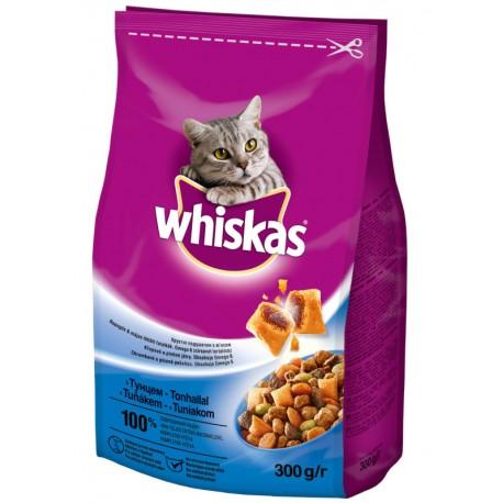 Храна за котки хапки Whiskas риба тон със зеленчуци 300g