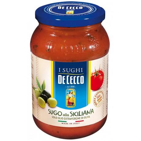 Сос Сицилиана De Cecco 400g