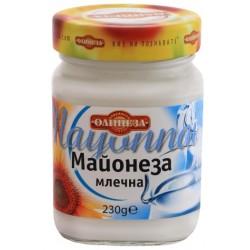 Майонеза млечна Олинеза 230g буркан