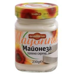 Майонеза с топено сирене Олинеза 230g буркан