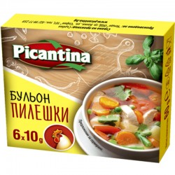 БУЛЬОН PICANTINA ПИЛЕШКИ 6X10g
