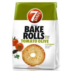 Bake Rolls Домати, маслини и риган 70g