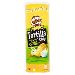 Тортила чипс Pringles Сметана 160g