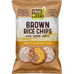 Оризов чипс с Просо и Слънчоглед RICE UP! 60g