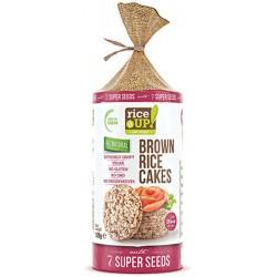 Оризови бисквити с 7 Супер семена RICE UP! 120g