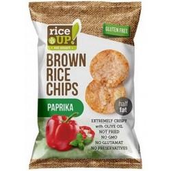 Оризов чипс Паприка RICE UP! 60g