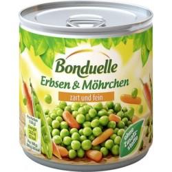 Екстра крехък Грах с моркови Bonduelle 425 ml