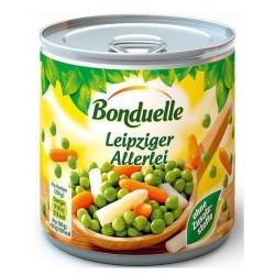 Грах, моркови и аспержи Bonduelle 425 ml
