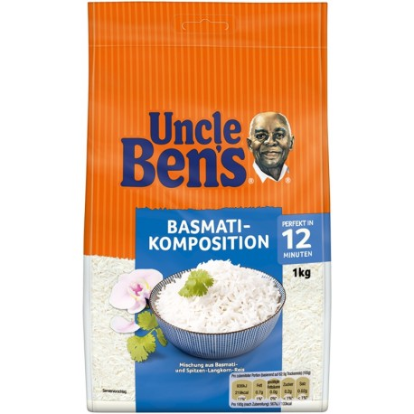 ОРИЗ БАСМАТИ UNCLE BEN'S 1kg