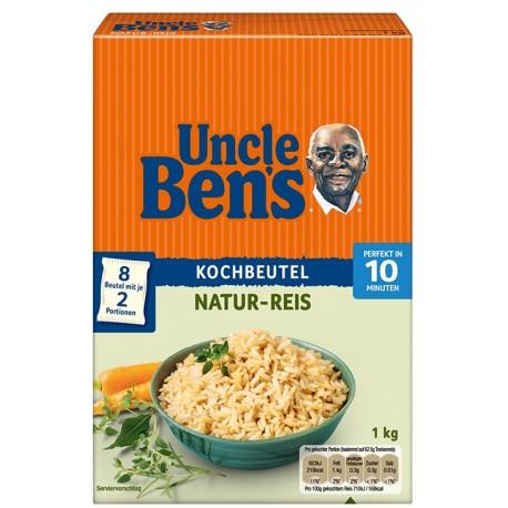 Натурален ориз в торбички UNCLE BEN'S 1kg
