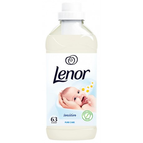 Омекотител Lenor Sensitive Pure Care 1,9l