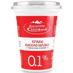КИСЕЛО МЛЯКО 0,1% МАДЖАРОВ 400g