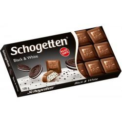 Шоколад Бял и черен SCHOGETTEN 100g