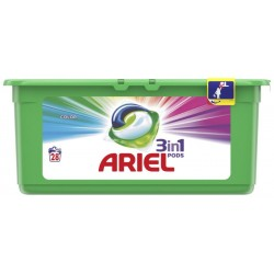 Ariel Гел капсули 3в1 Color 28бр.