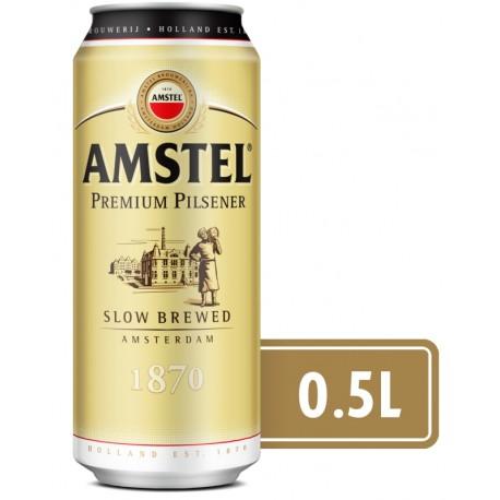 Бира Амстел кен 500 ml