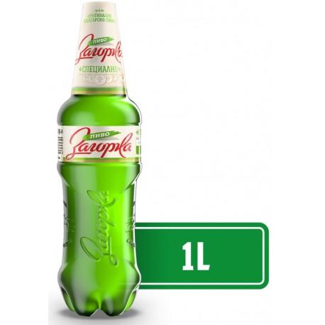 Светла бира Загорка Специално 1l