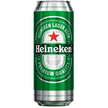 Светла бира Heineken кен 500ml