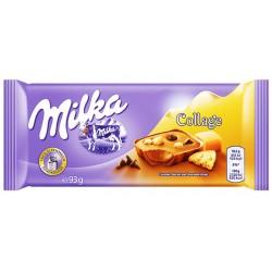 Шоколад Milka Collage Карамел и бисквита 93g
