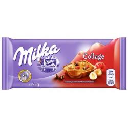 Шоколад Milka Collage Плодове 93g