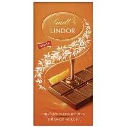 Шоколад Lindt Линдор Портокал 100g