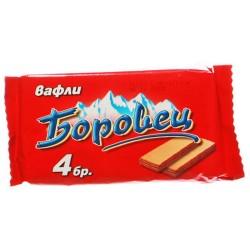 Вафли Боровец пакет 120g
