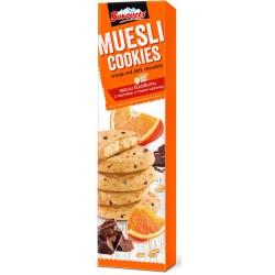 Бисквити Боровец Мюсли Портокал и тъмен шоколад 110g