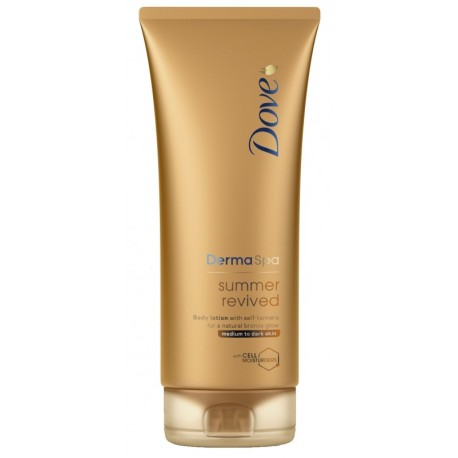 Лосион за тяло Dove Derma Spa Summer Dark 200ml