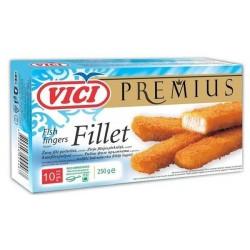 Замразени Панирани рибни пръстчета Premius VICI 250g