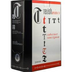 Червено вино Telish Cabernet 3l