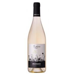 Бяло вино BRATANOV SYMBIOSE Шардоне&Тамянка 750ml