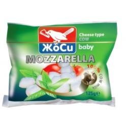Моцарела от краве мляко бейби Жоси 125g