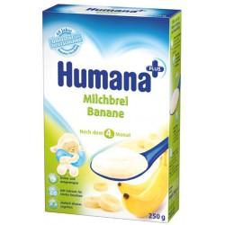 Бананова каша Хумана 0.250