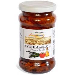 Сушени домати в олио с билки Фамилекс 280g буркан