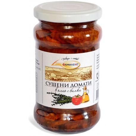 Сушени домати Фамилекс 280g буркан