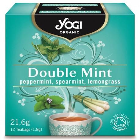 Био чай Двойна Мента 12х1,8g YOGI TEA
