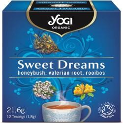 Био чай Успокояващ Sweet Dreams 12х1,8g YOGI TEA