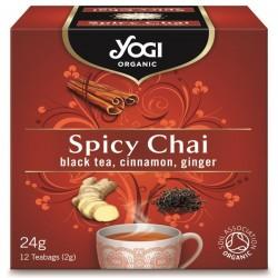 Био чай Пикантен Spicy Chai 12х2g YOGI TEA