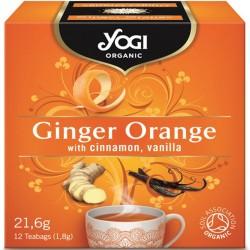 Био чай Джинджифил и портокал 12х1,8g YOGI TEA