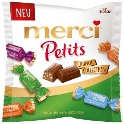 Шоколадови бонбони MERCI PETITS CRUNCH КОЛЕКЦИЯ 125g