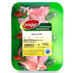 Пилешко долно бутче Градус охладено 100g