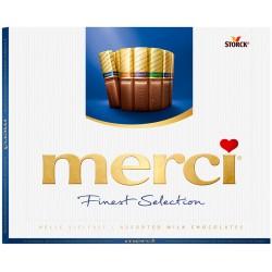 Шоколадови бонбони Merci 250g млечен