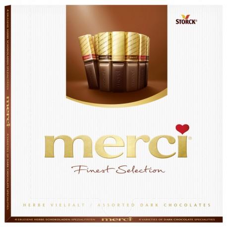 Шоколадови бонбони Merci 250g натурален