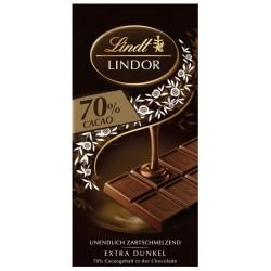 Шоколад Lindt Линдор 70% какао 100g
