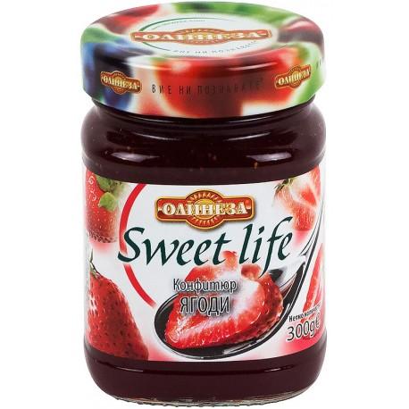 Конфитюр ягода 0,300 Олинеза
