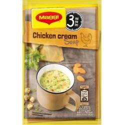Инстантна Пилешка крем супа с крутони Maggi 16g
