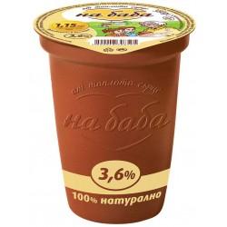 Кисело мляко на Баба 3,6% 380g