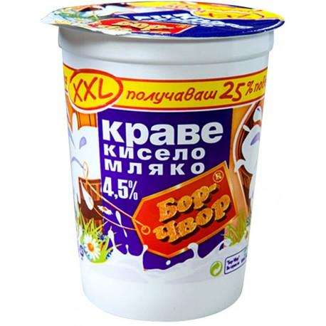 КИСЕЛО МЛЯКО БОР ЧВОР 4.5% 500g XXL