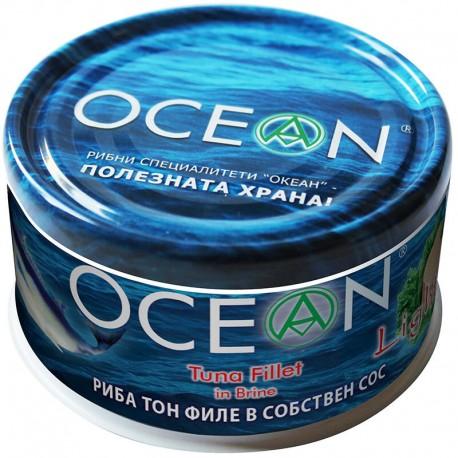 Риба тон- филе в собствен сос OCEAN 185g