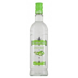 Водка Собиески Зелена ябълка 700ml