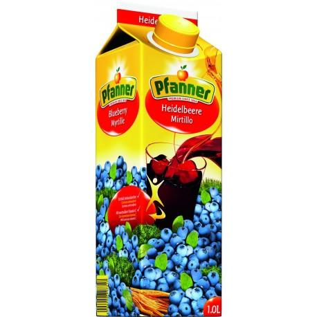 Напитка Pfanner 1l Синя боровинка 25%